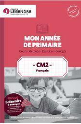 Mon année de primaire ; français ; CM2 ; cours, méthode, exercices, corrigés - Couverture - Format classique
