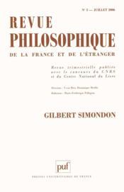Revue Philosophique N.130/3 ; Ribot, Levy-Bruhl, Durkheim - Couverture - Format classique