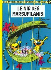 Les aventures de Spirou et Fantasio T.12 ; le nid des marsupilamis - Intérieur - Format classique