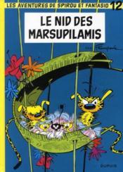 Les aventures de Spirou et Fantasio T.12 ; le nid des marsupilamis - Couverture - Format classique