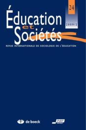Revue Education Et Societes N.12 ; L'Influence Des Organisations Internationales Sur Les Politiques D'Education - Couverture - Format classique