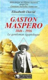 Gaston maspero, 1846-1916 - Couverture - Format classique