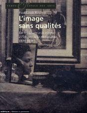 L'image sans qualités - Intérieur - Format classique