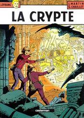 Lefranc T.9 ; la crypte - Intérieur - Format classique