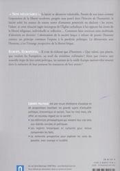 REVUE LIBERTE POLITIQUE T.24 ; laïcité, la démocratie sans l'homme - 4ème de couverture - Format classique
