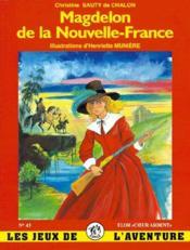 Magdelon de la Nouvelle-France - Couverture - Format classique