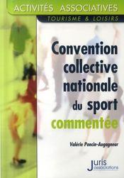 Convention collective nationale du sport commentée - Intérieur - Format classique