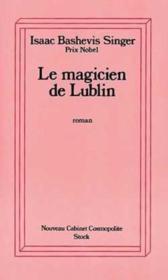 Le magicien de lublin - Couverture - Format classique