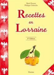 Recettes En Lorraine - Couverture - Format classique