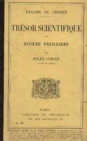 Trésor scientifiques des écoles primaires - Couverture - Format classique