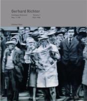 Gerhard richter catalogue raisonne volume 1 - 1962-1968 - Couverture - Format classique