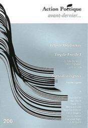 Revue Action Poetique N.206 - Couverture - Format classique
