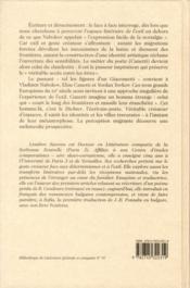 Le métier du poète en exil ; Vladimir Nabokov, Elias Canetti et Yordan Yovkov - 4ème de couverture - Format classique