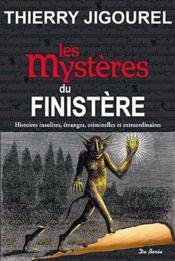 Les mystères du Finistère - Couverture - Format classique