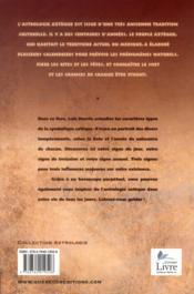 Astrologie aztèque simplifiée - 4ème de couverture - Format classique