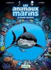Les animaux marins en bande dessinée t.1 - Couverture - Format classique