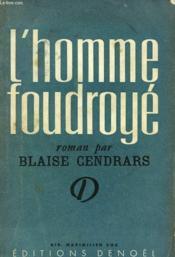 L'Homme Foudroye. - Couverture - Format classique