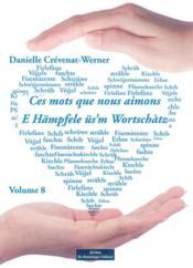 Ces mots que nous aimons tome 8 - Couverture - Format classique