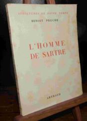 L'Homme De Sartre - Couverture - Format classique