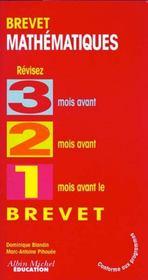 321 Brevet ; Mathematiques - Intérieur - Format classique
