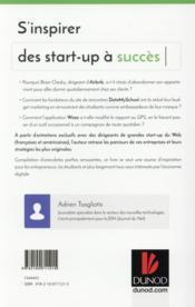 S'inspirer des start-up à succès - 4ème de couverture - Format classique