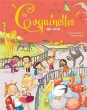 Les Coquinettes au zoo - Couverture - Format classique