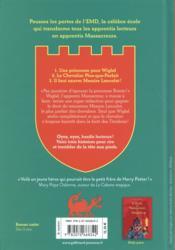 L'école des Massacreurs de dragons ; INTEGRALE VOL.2 ; T.4 A T.6 - 4ème de couverture - Format classique