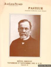 Pasteur. Ancienne collection Louis Sergent - Couverture - Format classique