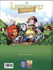Les Légendaires - Parodia T.2 ; vous trouvez ça drôle ? - 4ème de couverture - Format classique