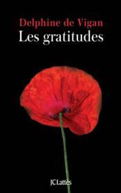 Les gratitudes - Couverture - Format classique
