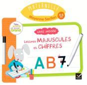 Livre ardoise ; MS ; lettres majuscules et chiffres - Couverture - Format classique