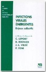 Infections virales émergentes - Couverture - Format classique