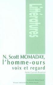 N. Scott Momaday, l'homme-ours ; voix et regard - Intérieur - Format classique