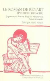 Le roman de Renart t.1 - Couverture - Format classique