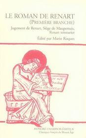 Le roman de Renart t.1 - Intérieur - Format classique