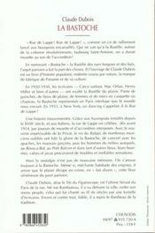 La bastoche ; bal-musette, plaisir et crime 1750-1939 - 4ème de couverture - Format classique