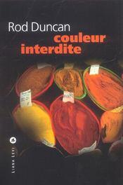 Couleur Interdite - Intérieur - Format classique