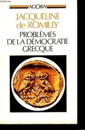 Problemes De La Democratie Grecque - Couverture - Format classique
