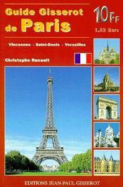 Guide Gisserot de Paris - Intérieur - Format classique