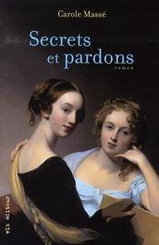 Secrets et pardons - Intérieur - Format classique