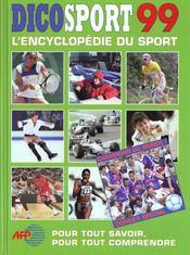 Dicosport 1999 - Intérieur - Format classique