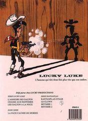 Lucky Luke T.62 ; les Dalton à la noce - 4ème de couverture - Format classique