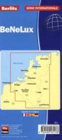Benelux ; carte routière et touristique - 4ème de couverture - Format classique