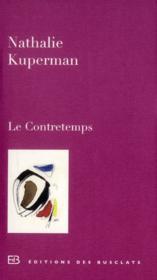 Le contretemps - Couverture - Format classique