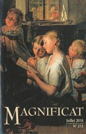 Magnificat N.212 ; Juillet 2010 - Couverture - Format classique