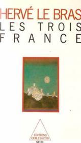 Les trois France - Couverture - Format classique