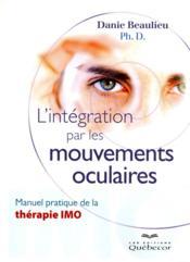 L'intégration par les mouvements oculaires - Couverture - Format classique