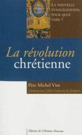 La revolution chretienne - Couverture - Format classique