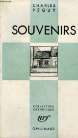 Souvenirs. Collection Catholique. - Couverture - Format classique