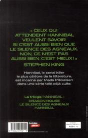Hannibal - 4ème de couverture - Format classique